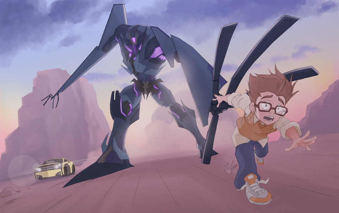 Darkness Rising Within (Transformers Prime Jack X Evrywone