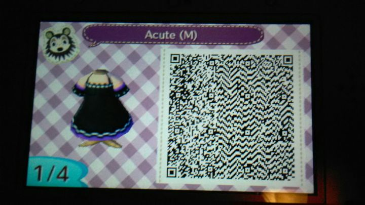 Animal Crossing New Leaf Happy Home Designer Anime Qr Codes
