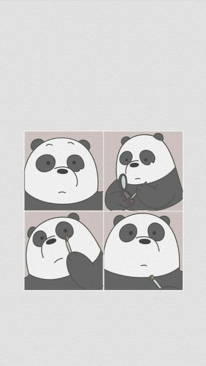 Wallpaper Feeds Lockscreen ꪶ ୭ We Bare Bears Wallpaper Wattpad