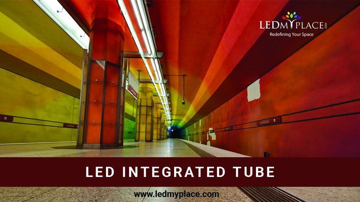 Some of the benefits of installing an LED integrated tube are discussed underneath