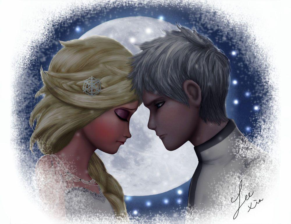 Frozen 2 Jelsaqueen Elsa X Jack Frost Chapter 3 The Spark Wattpad