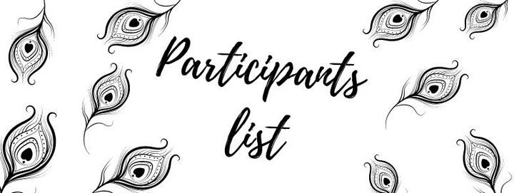 Here is the participants list