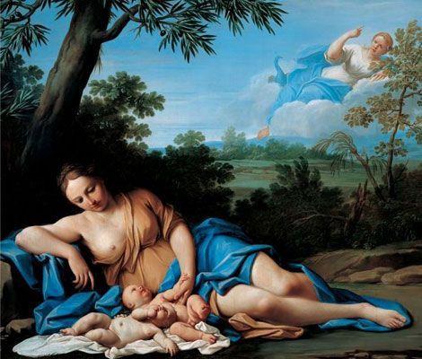 Tras el nacimiento de los dos bebés, Hera no depuso su ira contra Leto