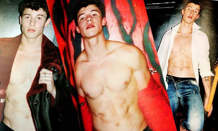 The only time I'm the perverted one is if he posts a shirtless pic or this kind of photoshoot👇👇👇