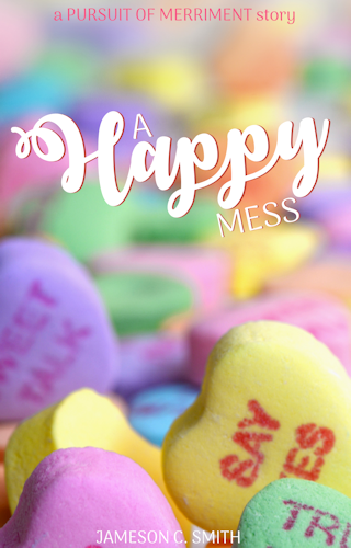 If you're looking for more stories about the characters from The Pursuit of Merriment, check out the companion short story, A Happy Mess!