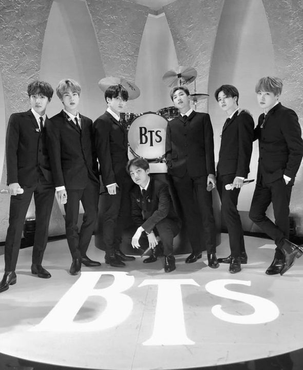 BTS - The Late Show With Stephen Colbert
