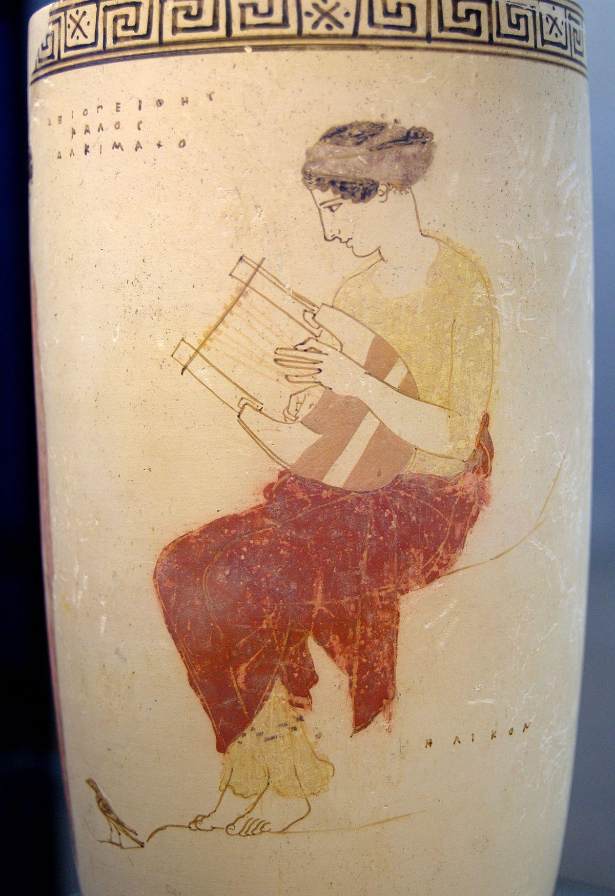 Đàn lia là một nhạc cụ nổi ting thuộc bộ dây được sử dụng phổ bin thời Hy Lạp cổ đại và các thời kì sau đó Wiki