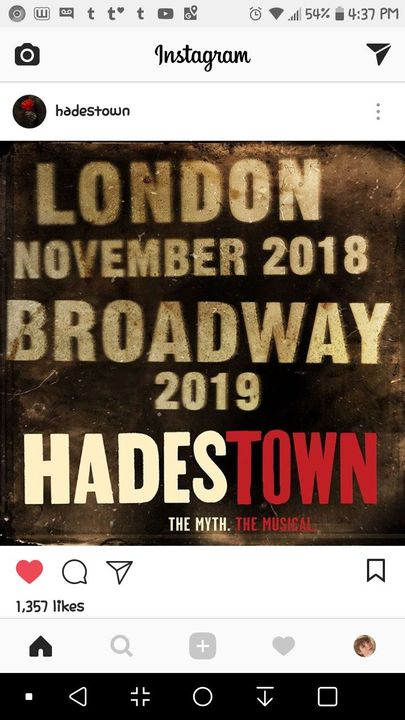 Musical Madness - HADESTOWN ON BROADWAY - Wattpad