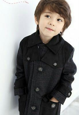 Oh my God! he's a handsome kid