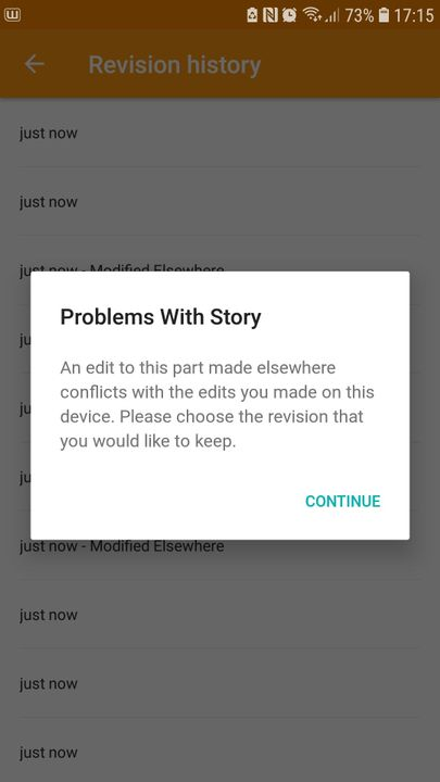 be grateful for this cause WATTPAD SUCKS ASS AND KEPT SAYING THAT IS COULDNT BE PUBLISHED CAUSE IT WAS EDITED ELSEWHERE WHEN IT FUCKING WASNT THIS PIECE OF SHIT APP I TRIED OVER 20 TIMES AND ITS NOT WORKING-