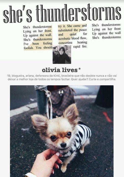 (O que temos aqui é um recanto onde Olivia vai colocar tudo que é importante pra ela