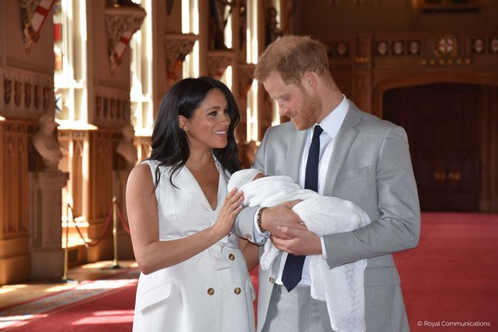 """They basically named the baby, """"Son of Harry