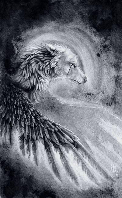 Image: Reflection of my Soul by wolf-minori