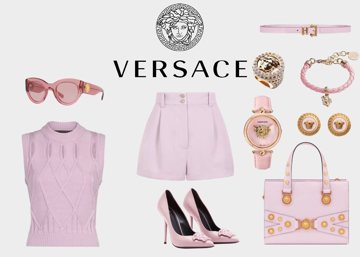 LOUIS' OUTFIT: VERSACE