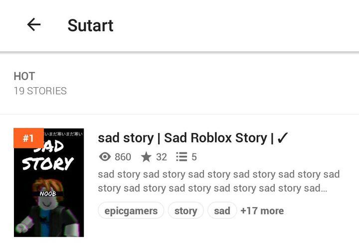 Sad Story Sad Roblox Story Thank You Wattpad - sad noob story roblox