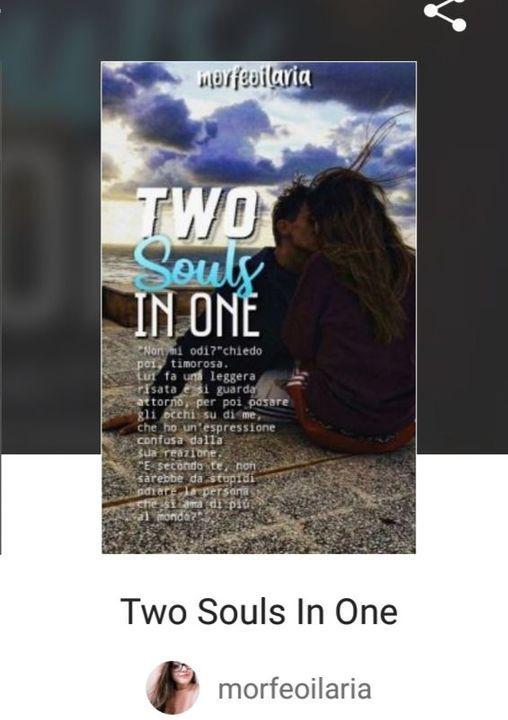 """La storia è già pubblica e si chiama """"Two Souls In One"""""""