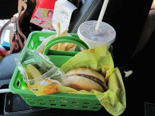 Don't eat and drive!)