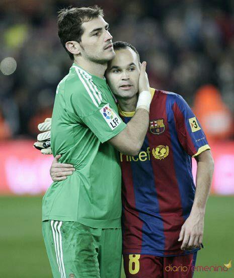 Andrés Iniesta and Iker Casillas: