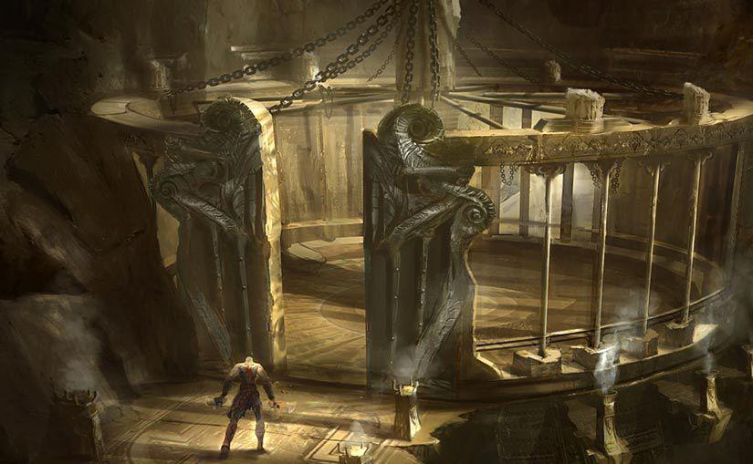 Platform, her ne kadar mütevazı bir antik yapı gibi görünse de, bünyesinde üstün teknolojiye sahip gizli bir donanım barındırıyordu