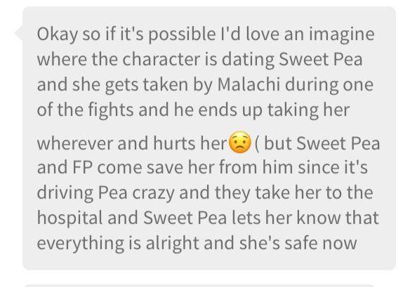 Sweet Pea Imagines - Safe and Sound - Wattpad