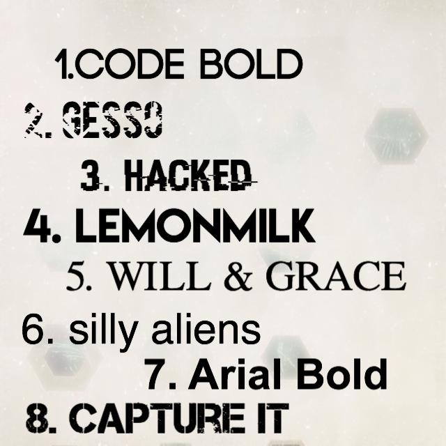 BOOK COVER TIPS || 101 - Header Fonts - Wattpad