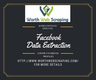 worth web scraping - Extract Facebook profiles using Web