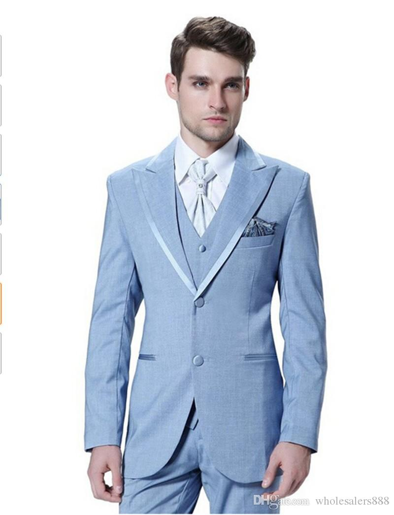 Beautiful Blue Prom Tuxedos Gallery - Wedding Dress Ideas ...