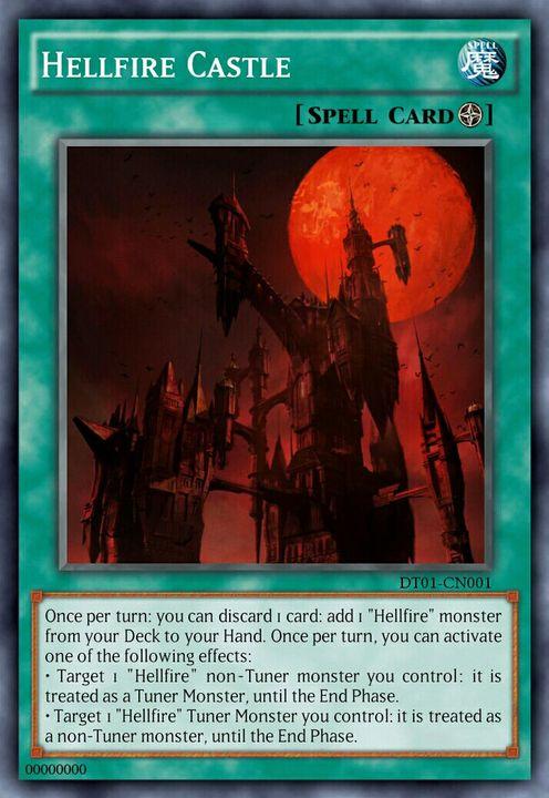Yu-Gi-Oh! Custom Cards/Archetypes - Archetype 6 - Hellfire