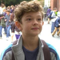 "Finn Wolfhard as ""Christopher Kelly"""