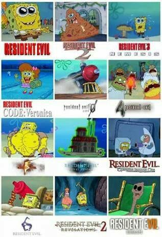 Resident Evil Memes Bob Esponja Wattpad