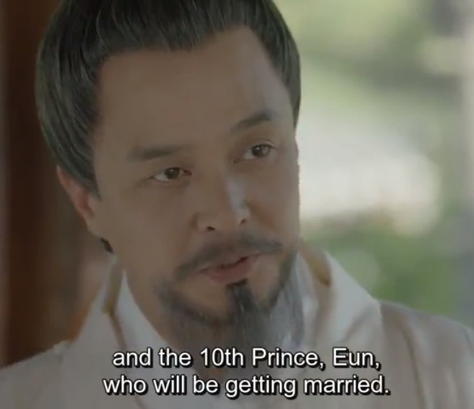 Did I just saw King Taejo right now!? It's giving me creeps