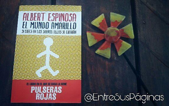 ♡ Reseña: A este libro llegué a través de la serie, #PulserasRojas