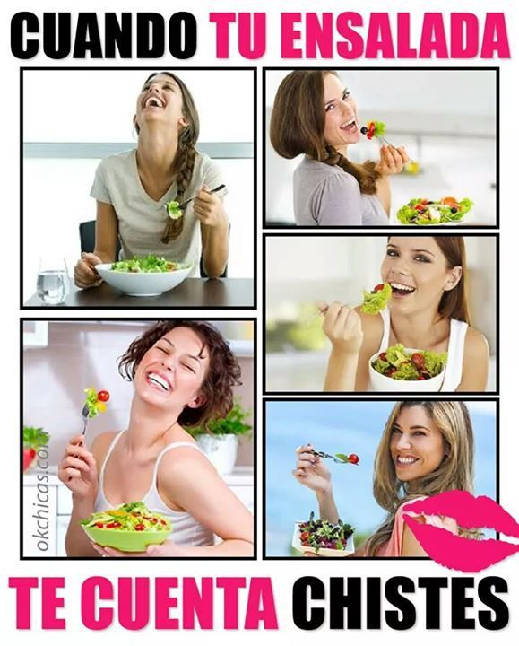 Image result for los chistes que me cuenta la ensalada