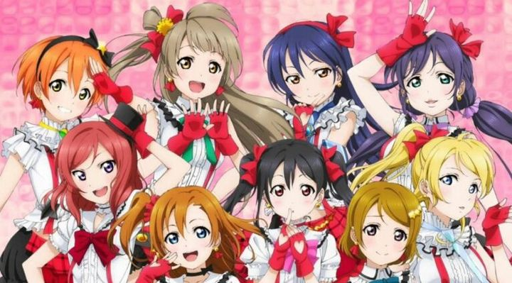 Before we start, use this picture to find which girl is talking, for example the girl in the middle with the black twin tail hair is Nico