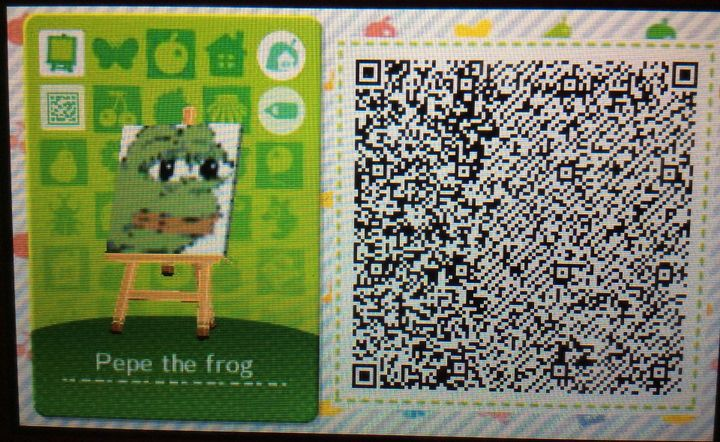 Animal Crossing New Leaf Happy Home Designer Anime Qr Codes