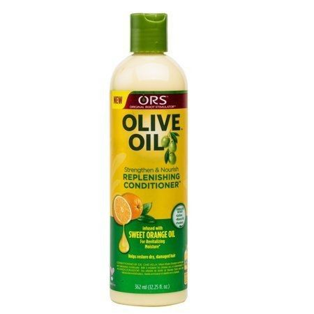 🌼 After that, I put in ORS conditioner or Garnier conditioner and let it sit in my hair for about thirty minutes