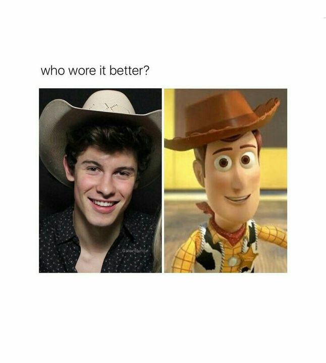 SHAWN WORE IT BETTERRRR! OMG YES LOOK AT OUR LITTLE COWBOY GOING YEEHAW INTO THE NIGHT, YOU GO BOY😭🙌🤘