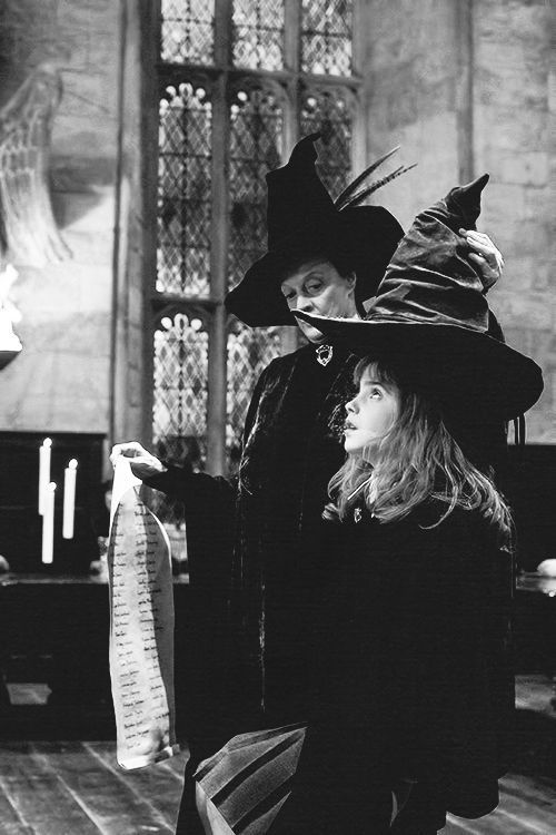 @hermionegranger throwback to my very first day at hogwarts, still can't believe this is our final year!