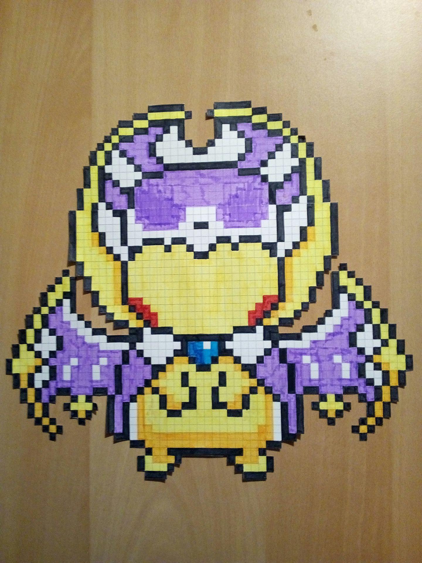 Ma Galerie De Dessins Pika Déguisé En Lunala Pokémon