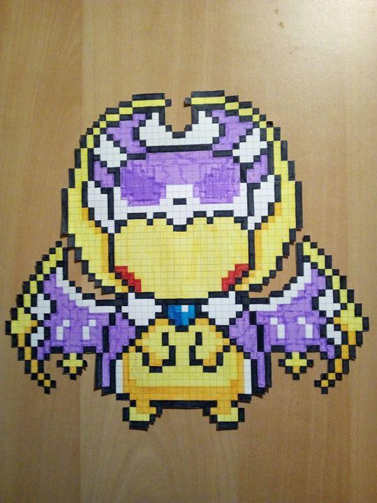 Pixel Art Pokemon Lunala