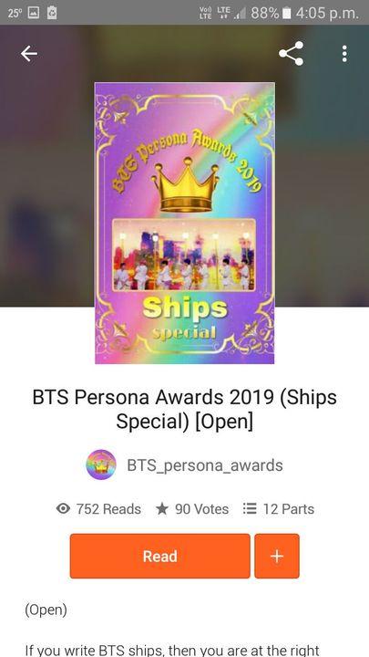 BTS Persona Awards 2019 By:- BTS_persona_awards
