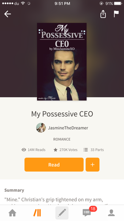 Best Completed Stories - My Possesive CEO - Wattpad