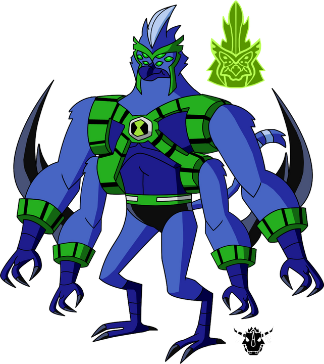 Ben 10 Alien Fusion Part 5 The Monkey Hawk Wattpad