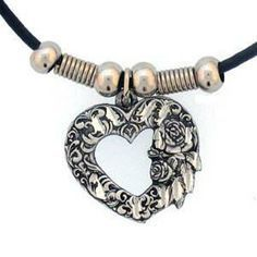 (The necklace looks somewhat like this)