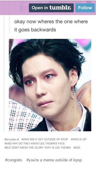 Shinee Memes Taemin Pt 2 Wattpad