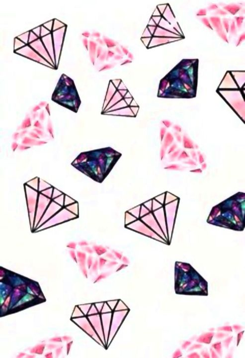 Fondos De Pantalla Wallpapers Fondo De Diamantes Wattpad