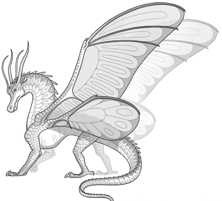 Wings of fire dragon coloring pages ~ Wings of Fire Ideas! - News! (New tribes, map, prophecy ...