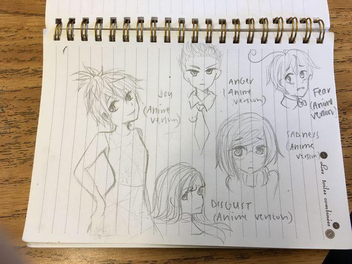 Drawings/Fan Art/Sketches - Inside Out - Wattpad