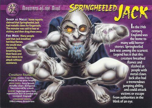 Mythical Creatures - Springheeled Jack - Wattpad