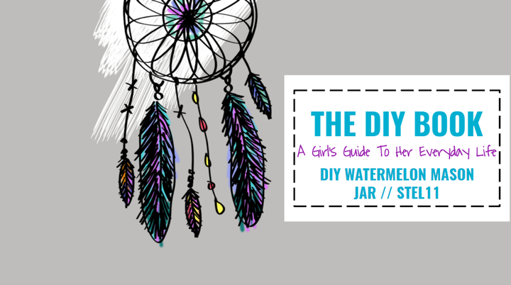 disclaimer: i never tried this DIY before, but i thought it was really cool and matches for a summer theme diy!